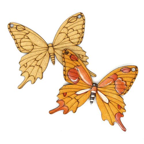 나비 7cm 10개 C-07-044