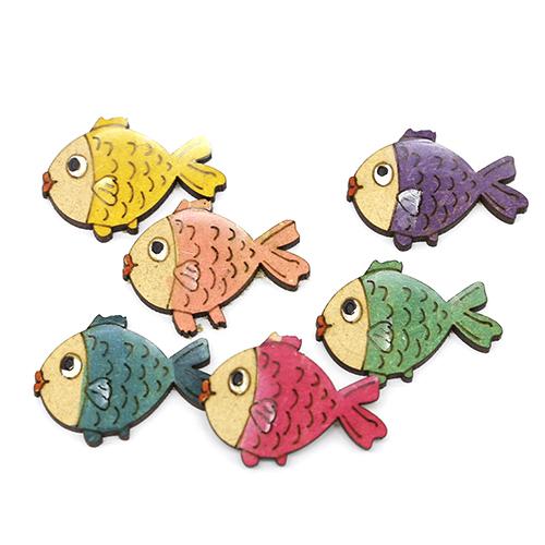 작은물고기오너먼트 4cm 10개 C-01-023