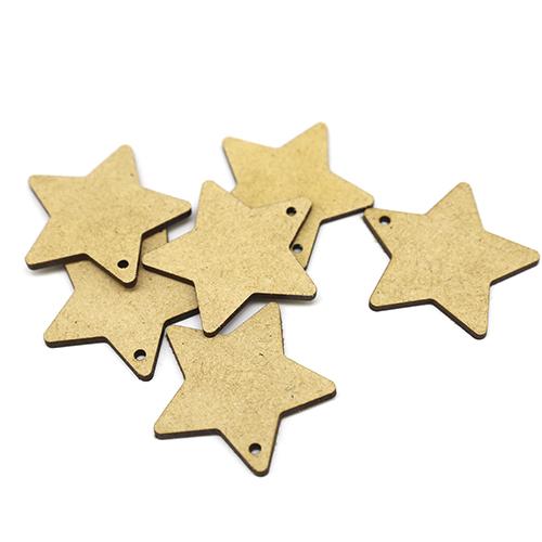 별 오너먼트  5.3 cm 10개 C-02-071