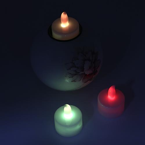 LED캔들 전자양초 1개 G-01-045