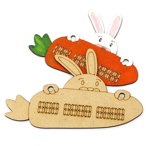 토끼주차판 반제품 5세트 F-07-023