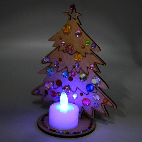 크리스마스 촛대트리 반제품 15cm 초특가 E-02-024