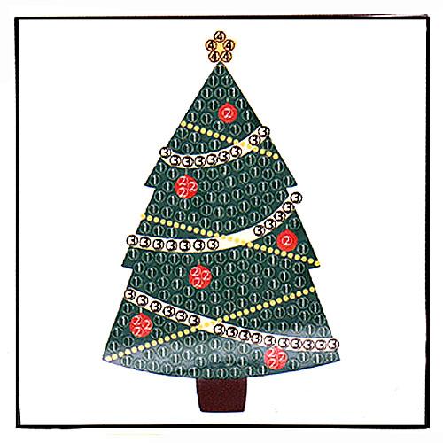 보석비즈 크리스마스 트리-1인세트 G-05-039