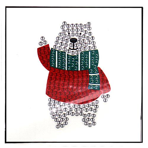 보석비즈 크리스마스 북극곰-1인세트 G-05-040