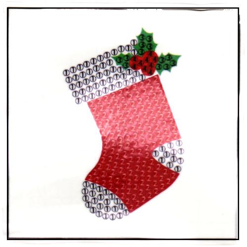 보석비즈 크리스마스 선물양말-1인세트 G-05-035