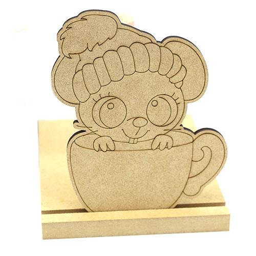 컵쥐 휴지봉 반제품 17cm D-01-003