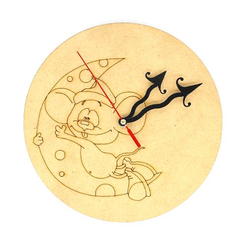 치즈쥐시계+부속포함  22cm 반제품 초특가 E-07-043