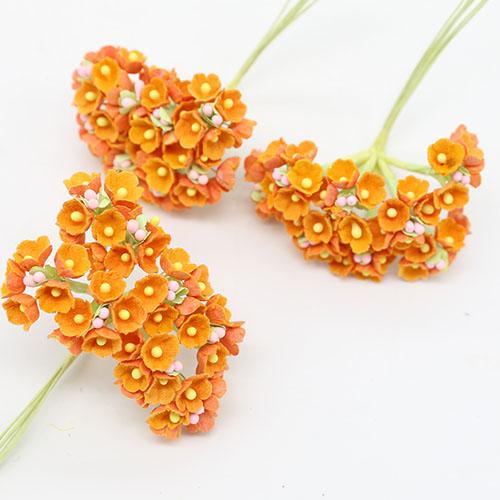 미니조화꽃     8송이 1cm A-05-035