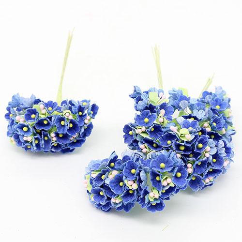 파스텔미니불루조화꽃     8줄기드려요 1cm A-05-037