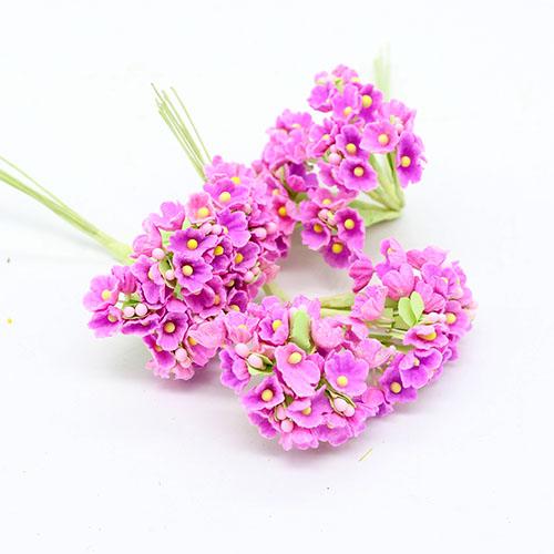 파스텔미니핑크조화꽃     8줄기드려요 1cm A-05-038