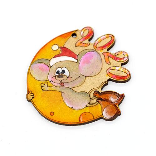 초승달 쥐 반제품 10개 7cm C-08-047