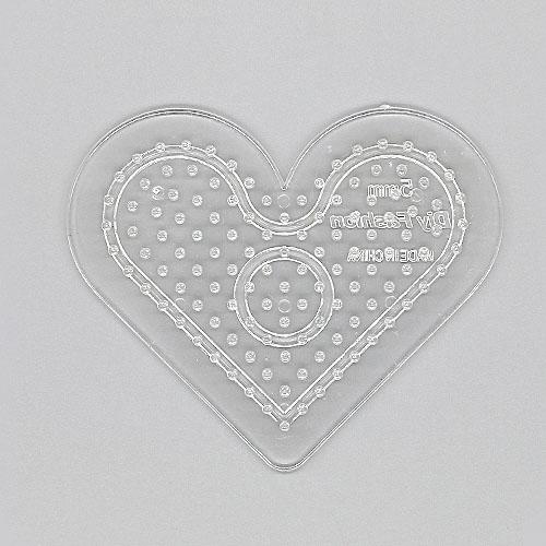컬러비즈 비즈판 하트 모양 G-07-066