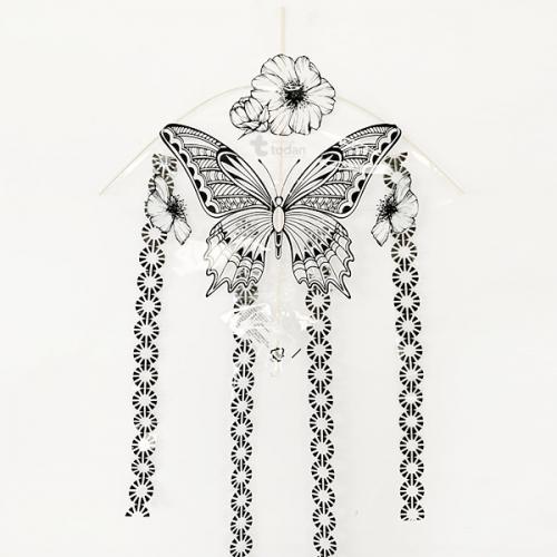 컬러링연 - 나비