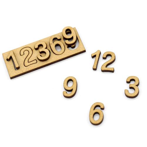 시계숫자 12369 2cm D-02-015