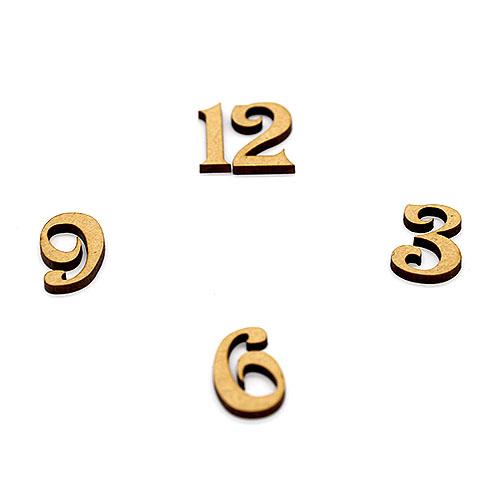 시계숫자 36912 큰 사이즈 4cm D-01-043