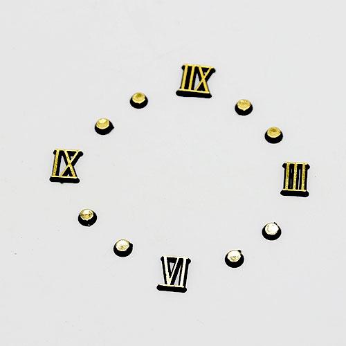 시계숫자 로마체 1cm E-07-005