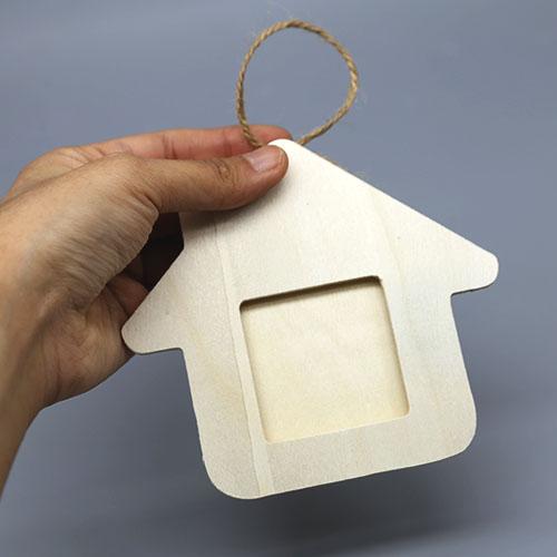 하우스 문패 액자 반제품 12cm A-04-041