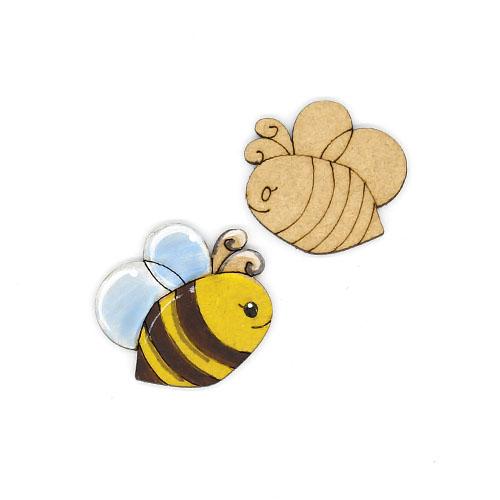 꿀벌 오너먼트 4cm 10개