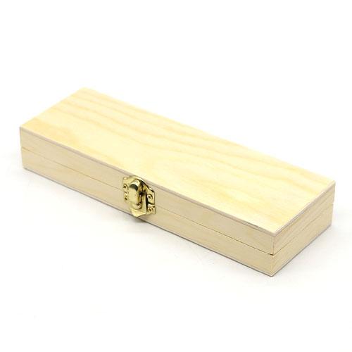 원목 필통 골드 경첩 반제품